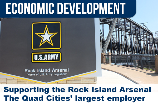 Rock Island Arsenal seeking businesses to feature for new